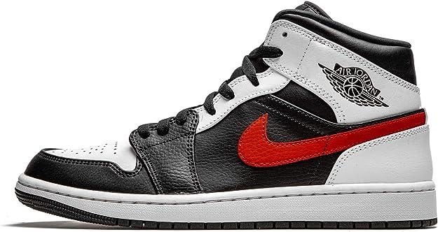 Nike air jordan 1 mid, scarpe da basket uomo