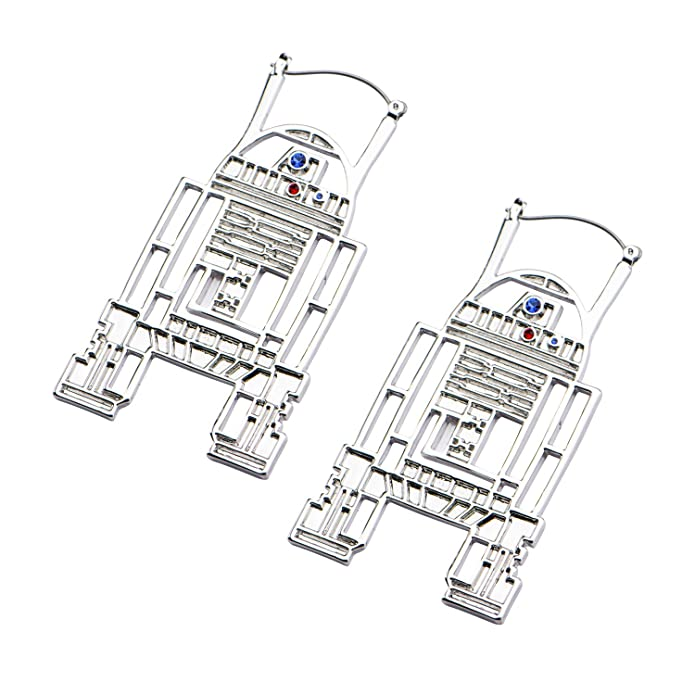 Amazon Com Star Wars Jewelry Womens Base Metal R2 D2 With Steel