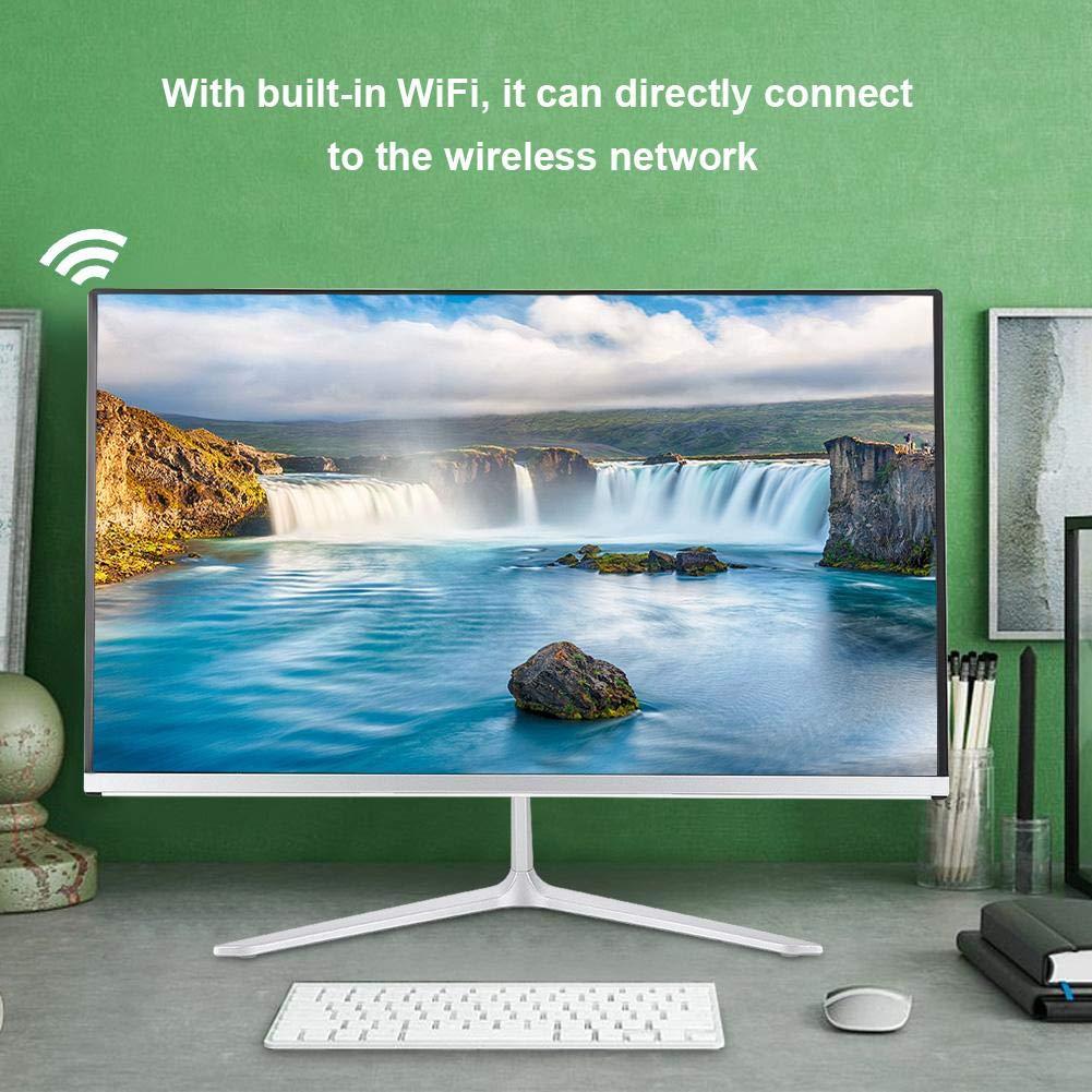 All In One PC Ordenador de sobremesa All in One-21.5 Ips FullHD-A8-I3-4000M//I5-4200M//I7-4600M//I7-4700QM I3-4000M 4GB RAM-120GB HDD Integrated Graphics Soporte WiFi-MIC incorporado-Windows 7