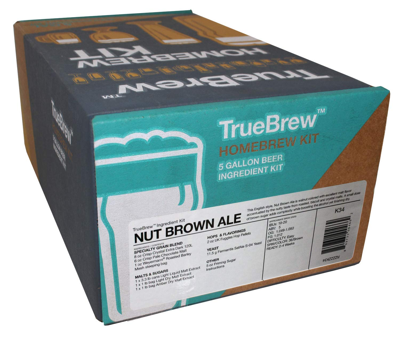True Brew Nut Brown Ale Home Brew Beer Ingredient Kit