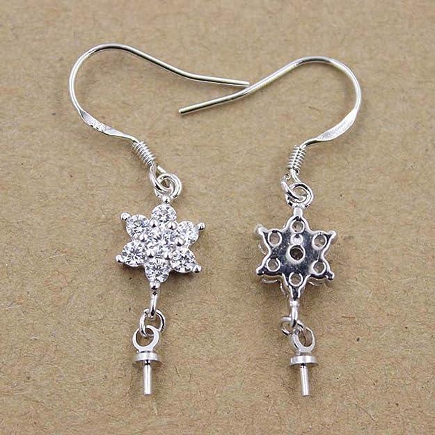 Silber 3mm 10pcs Sterling Silber Perlenkappen Schmuckherstellung Steckverbinder DIY Anh/änger Erkenntnisse