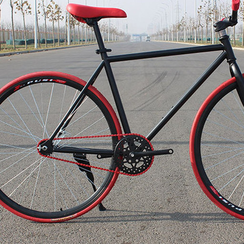 Rojo//P/úrpura//Blanco//Amarillo//Azul//Negro//Verde SM SunniMix Cadena de Bicicleta de 6//7//8 Velocidades,98 Eslabones