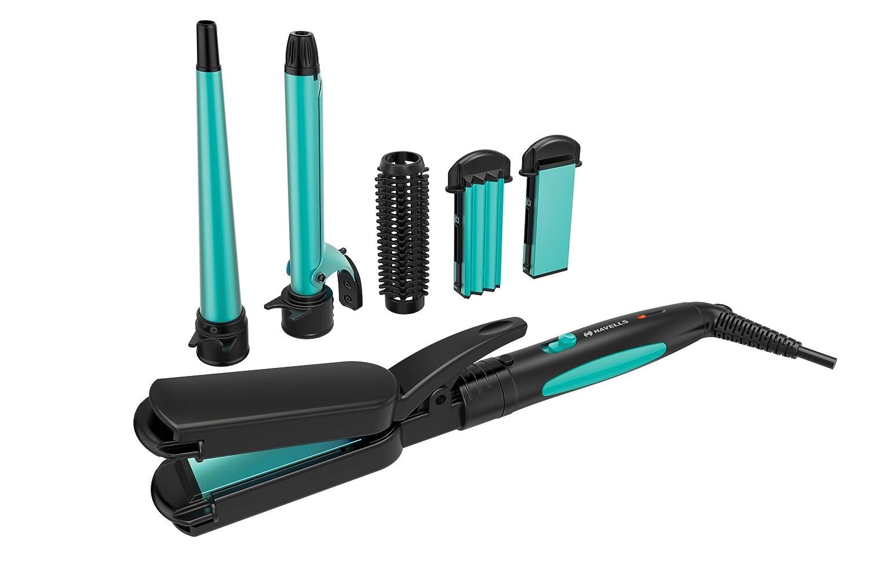 Havells HC4045 5 in 1 Multi Styling Kit (Blue/Black)