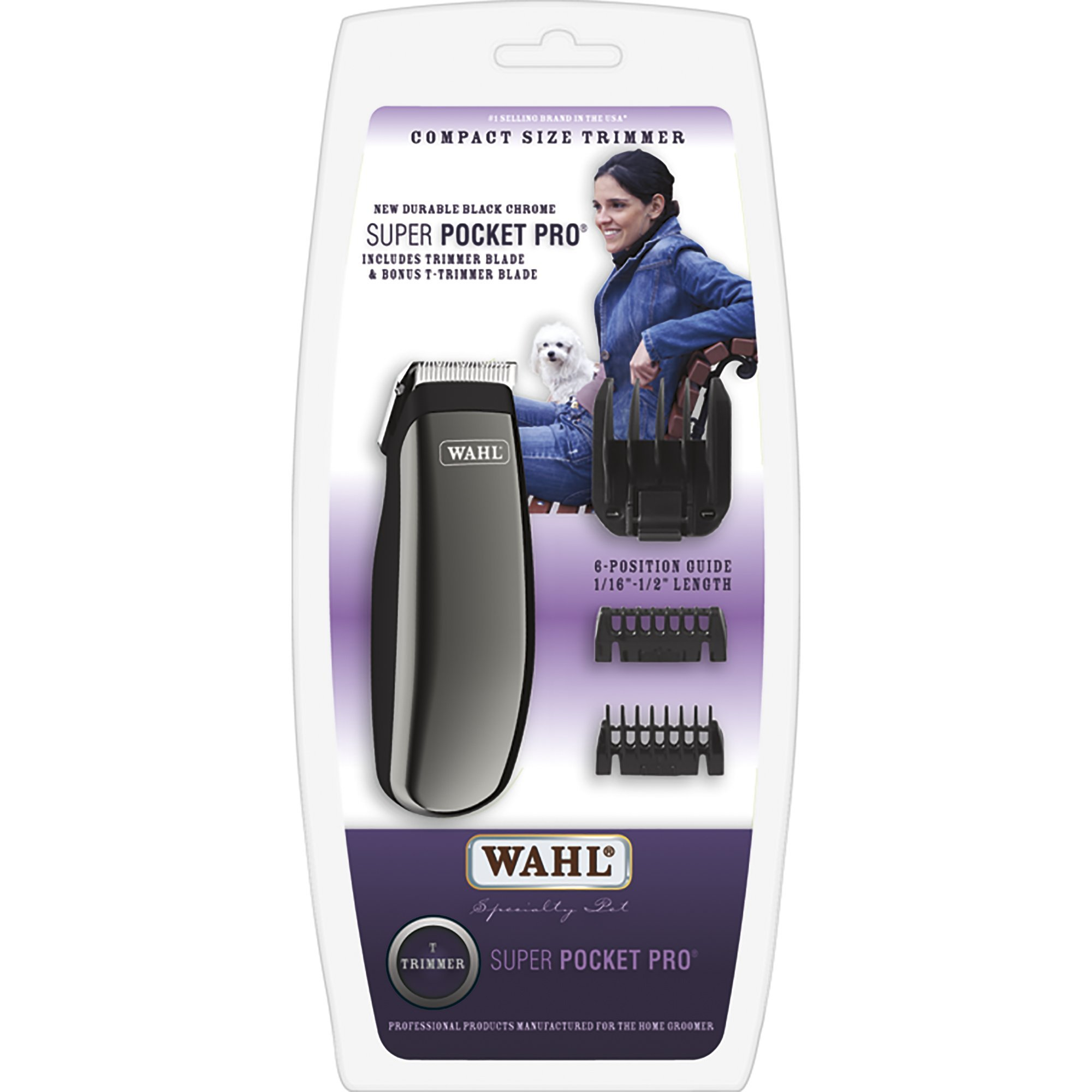 Wahl 9961-1291 Super Pocket Pro Trimmer by Wahl Professional Animal by WAHL