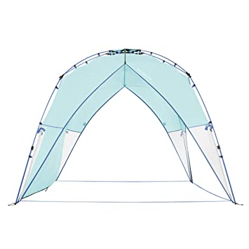 new style 1c99b f17f4 Lightspeed Outdoors Tall Canopy, Beach Shelter, Lightweight Sun Shade Tent  with One Shade Wall Included
