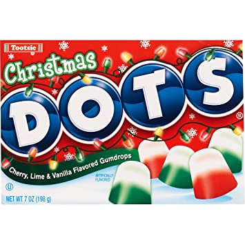 Christmas Candy.Dots Christmas Candy