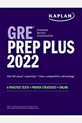 GRE Prep Plus 2022: 6 Practice Tests + Proven Strategies + Online (Kaplan Test Prep) Kindle Edition