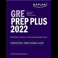 GRE Prep Plus 2022: 6 Practice Tests + Proven Strategies + Online (Kaplan Test Prep)