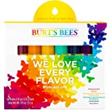 Burt's Bees Limited Edition Rainbow Pride Lip Balm Pack, 0.15 Ounce (6 Balms)