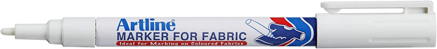 Artline White Marker For Fabric (1 Marker)
