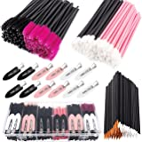 283 Pieces Makeup tools with storage box Makeup Applicators Tool Kit Includes Plastic Organizer Box Hair Clips Eyeliner Brush