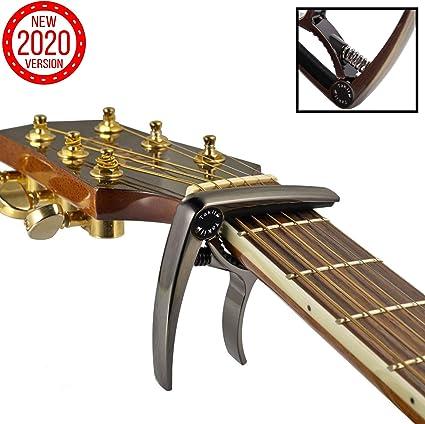 TAKIT Cejilla para Guitarra Acústica y Eléctrica - GARANTÍA DE POR ...