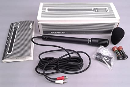 Bose Power MicroPhone PM-1 PM-10 for Bose Acoustic Wave Music System CD