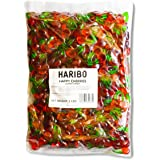 Haribo Gummi Candy, Happy Cherries, 5-Pound Bag