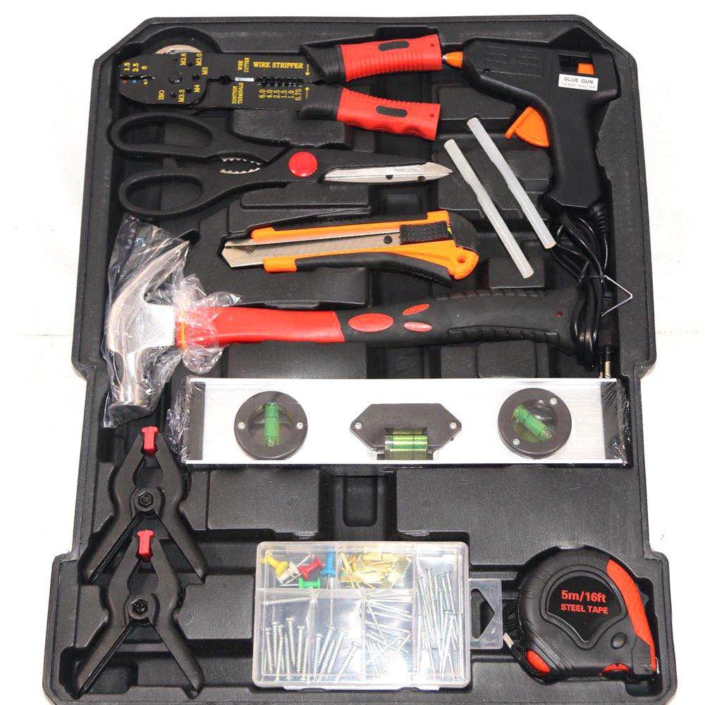729 tlg Werkzeugkoffer Alu Werkzeugkiste Satz Toolbox-Sets mit Werkzeug Box Gute