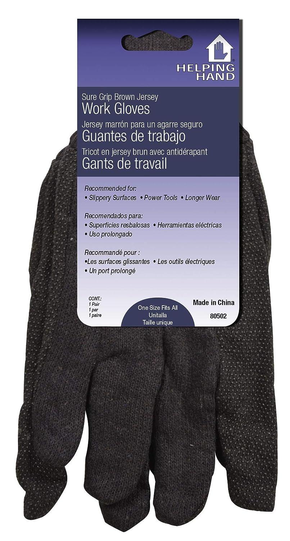 Helping Hand 156554 Gloves Sure Grip Jersey