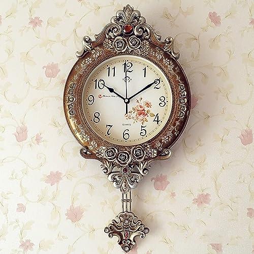 ArtDeco Wall Clock 12″ Clocks Silent Non Ticking