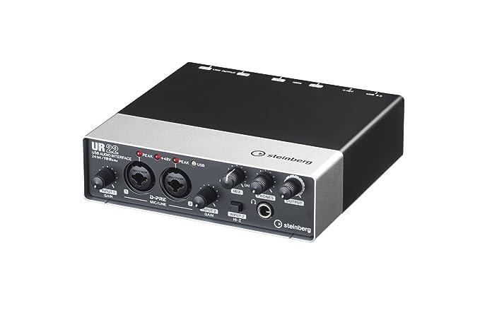 Steinberg UR22 2-Channel USB 2 0 Audio/MIDI Interface