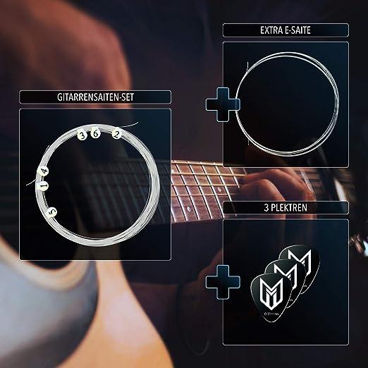 E-Gitarrensaite Kit Teil zuverlässig Zubehör 1 Stück Langlebig Nützlich