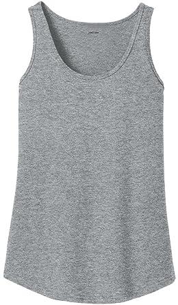 Amazon Com Ladies Soft 100 Cotton Tank Tops In Ladies Sizes Xs