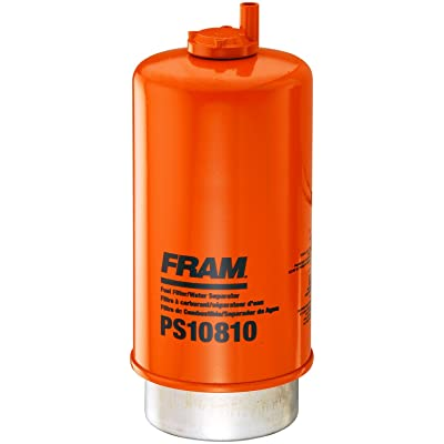 FRAM PS10810 HD Snap-Lock Fuel/Water Separator Filter with Drain: Automotive
