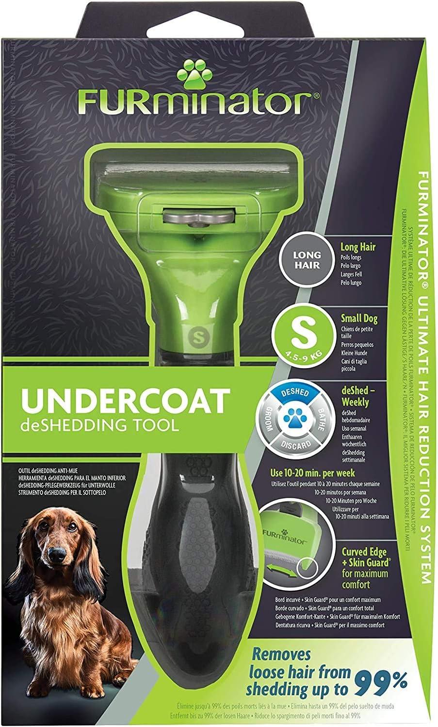FURminator - Herramienta deShedding para perros raza pequeña de ...