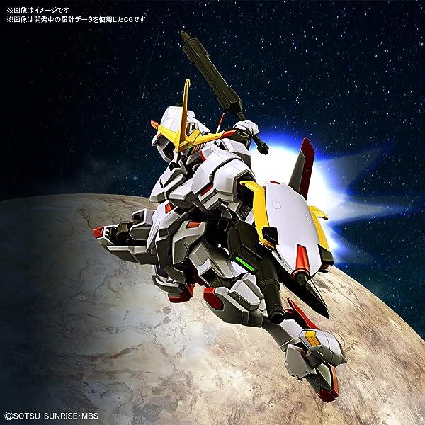 HG 機動戦士ガンダム 鉄血のオルフェンズ ガンダム端白星 1/144スケール 色分け済みプラモデル