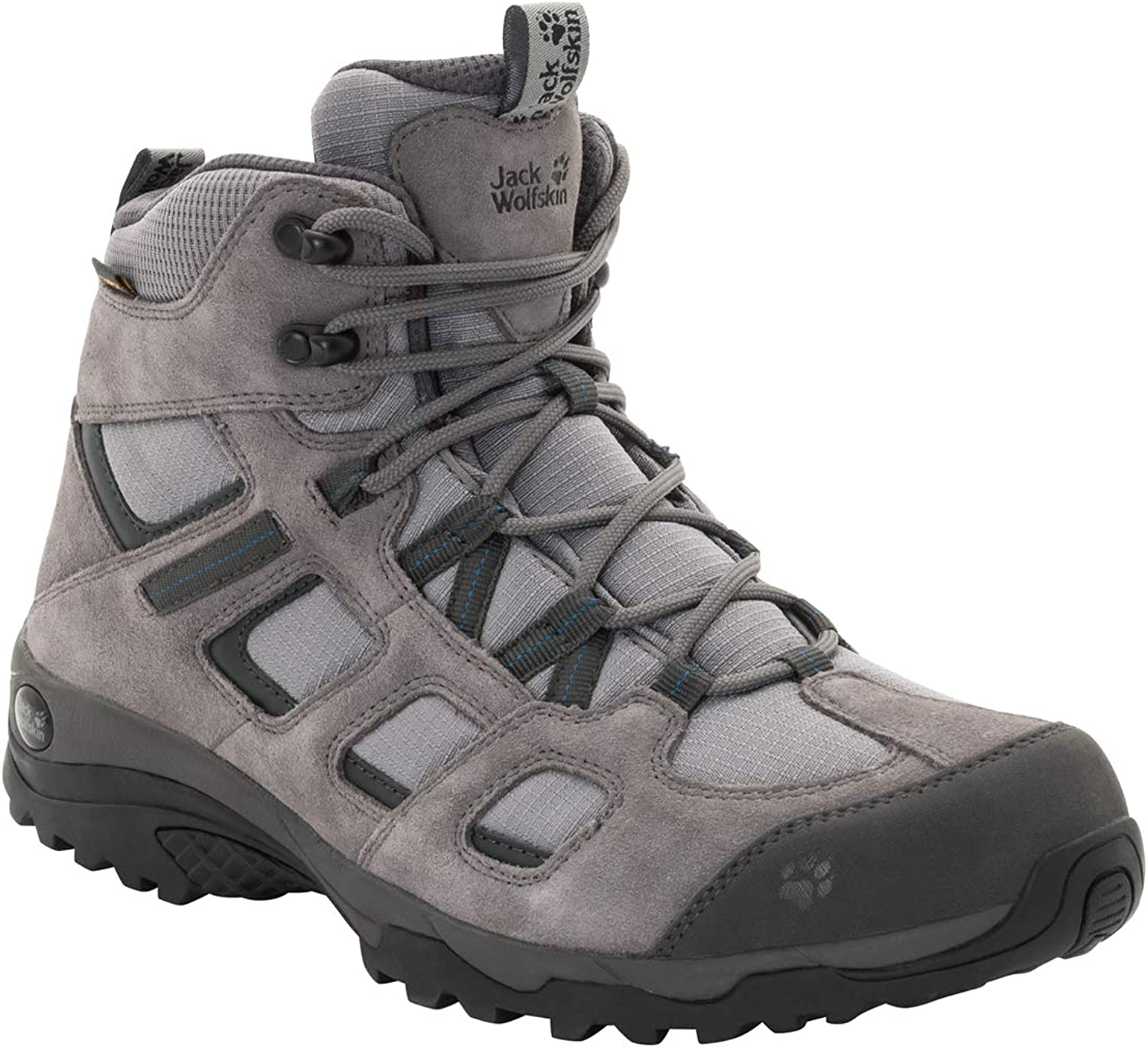 Jack Wolfskin Men s Vojo Mid Hiking Boot, tarmac grey, US Men s 9.5 D US