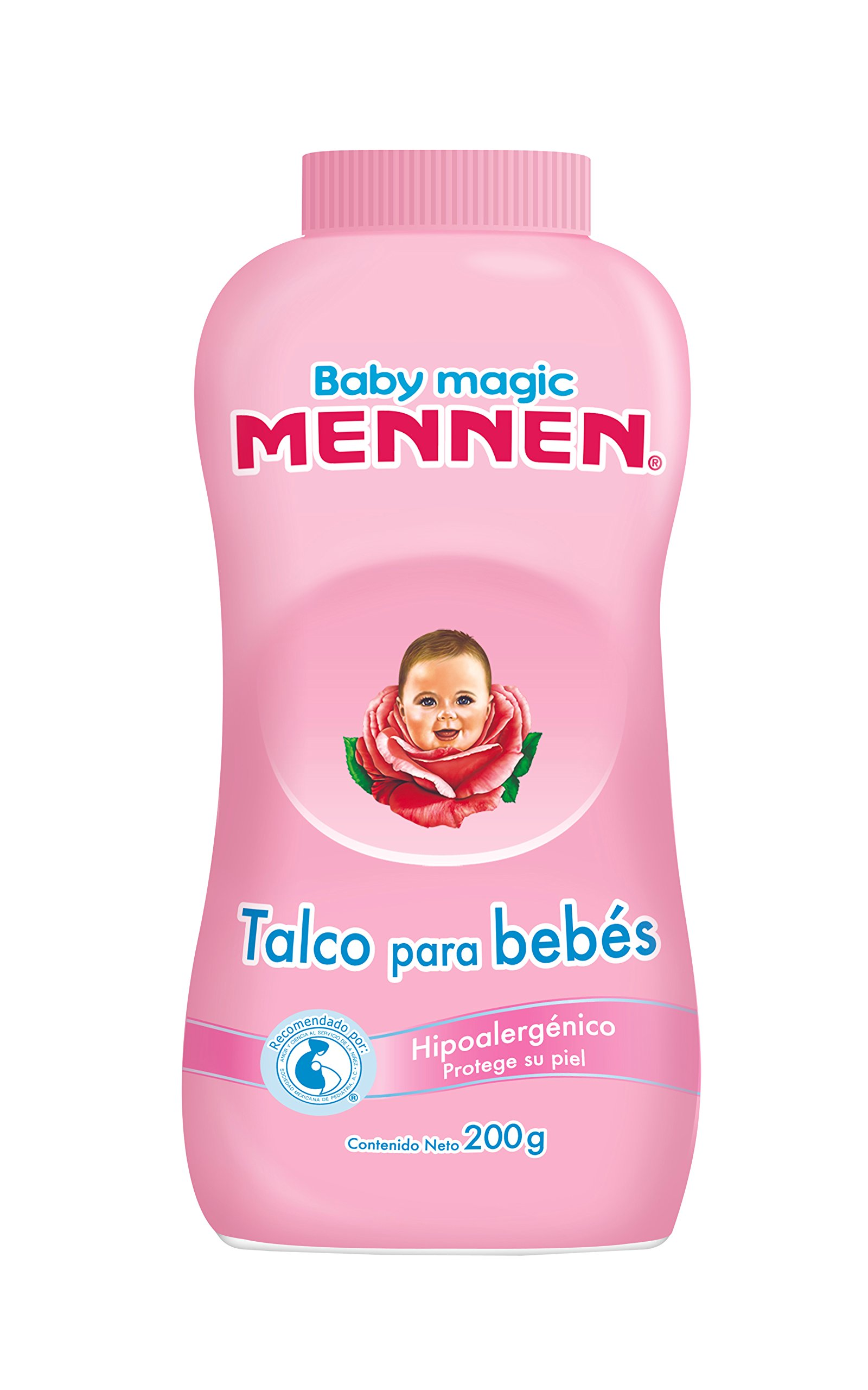 Amazon.com: Mennen Baby Magic Powder 7.05oz / Talco Para Bebe: Health & Personal Care