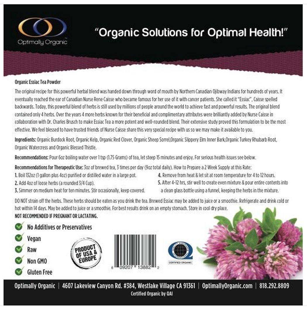 Cancer cure essiac herbal tea - Amazon Com Organic 8 Herb Essiac Tea Powder 1 2 Lb Health Personal Care