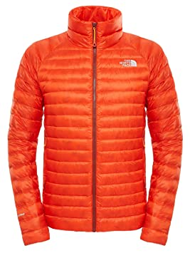 chaqueta north face naranja