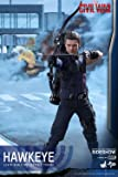 "Hot Toys Marvel Captain America Civil War Hawkeye 1/6 Scale 12"" Figure"