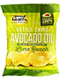 Good Health Avocado Oil Potato Chips, Lime Ranch, 1.00-Ounce (Pack of 24)