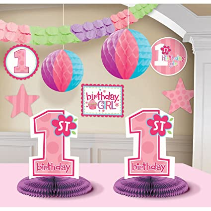 Centerpieces For 1st Birthday Girl Urban Home Interior