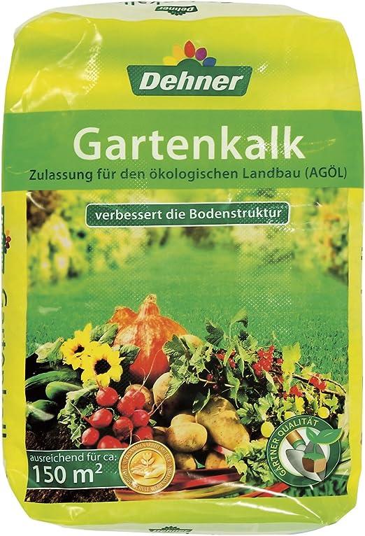 Dehner - Cal para jardines (20 kg, para 150 m2): Amazon.es: Jardín