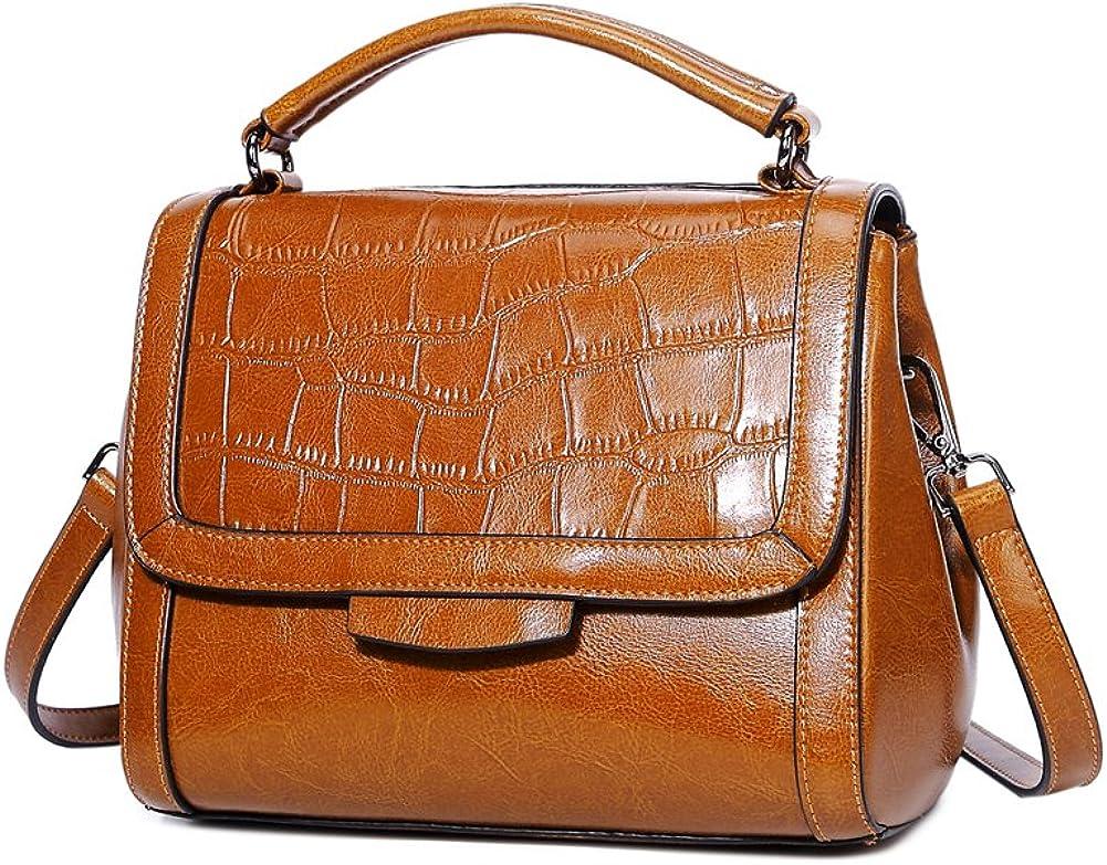 Genda 2Archer Women Leather Fashion Shoulder Handbag Satchel Tote Bag