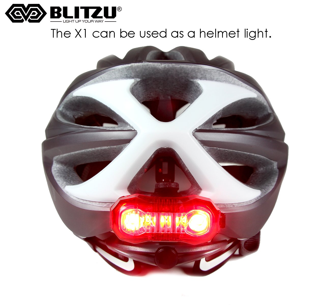 Super Bright Bike Light Usb Rechargeable Rear Tail