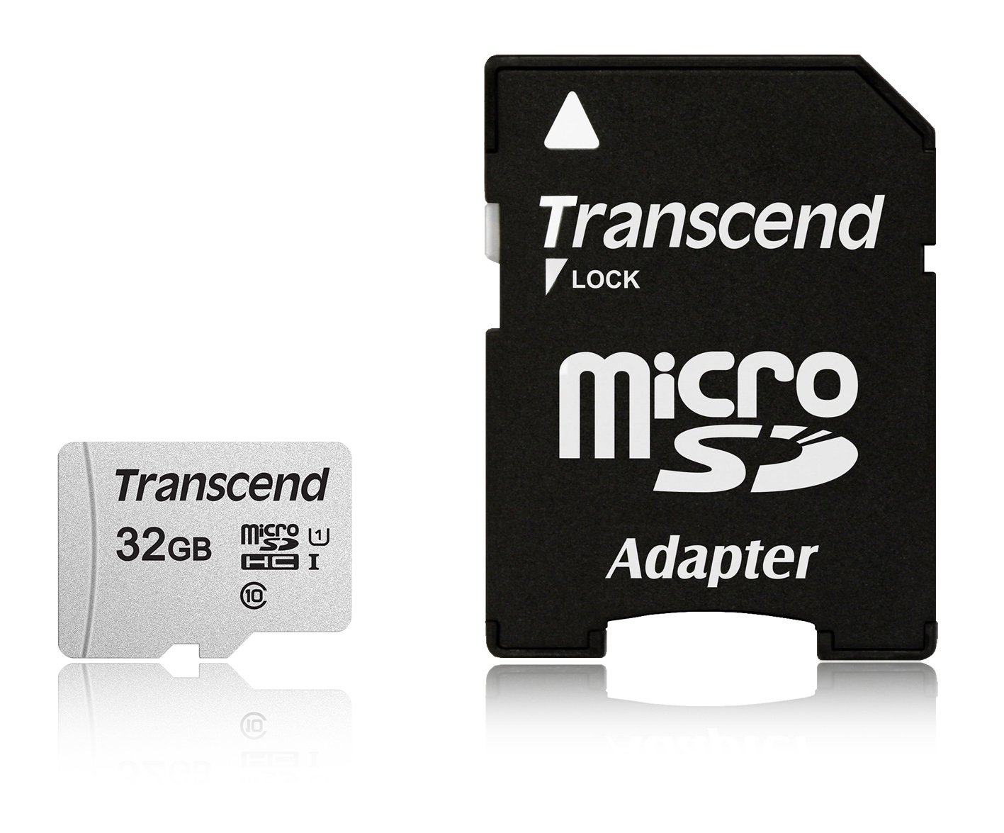 Transcend 32gb Microsdhc Uhs-i Class 10 U1 Memory Card With
