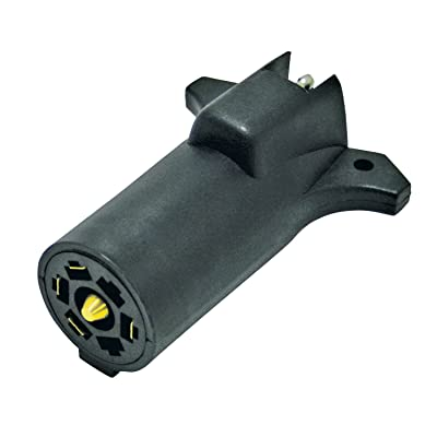Reese Towpower 85212 7-Way to 5-Way Adapter - Black: Automotive