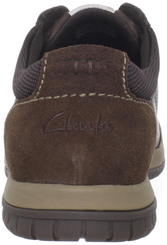 Amazon.com | CLARKS Men's Rhombus Euro, Brown, 10.5 M US | Fashion Sneakers