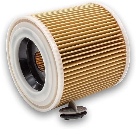 vhbw Cartucho de filtros para aspiradoras (seco/de agua) Kärcher NT 27/1 ME Professional, NT 48/1 TE Professional remmplaza 6.414-789, 6.414-789.0: Amazon.es: Hogar