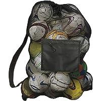Extra grote ballentas Mesh-apparatuurtas Mesh voetbaltas Achort Heavy Duty tassen met trekkoord 40 * 28 inch met…