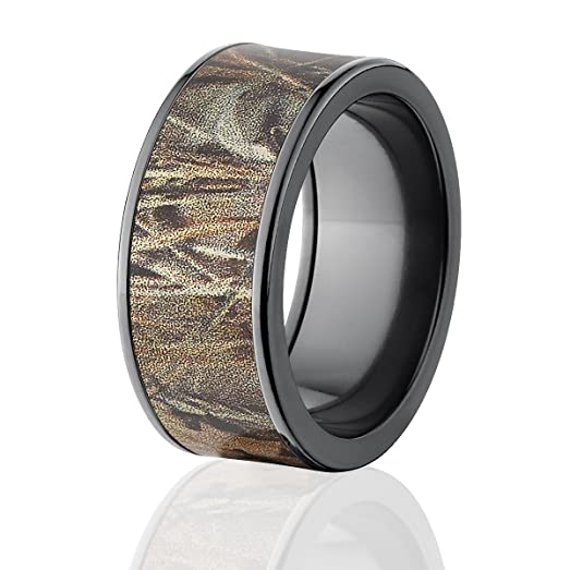 RealTree Rings Camouflage Wedding Bands Max 4 Camo