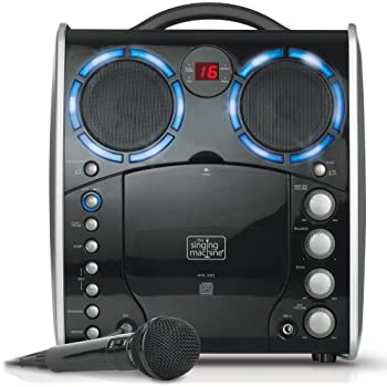 Amazon Com Singing Machine Sml 383 Portable Cdg Player