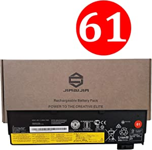 JIAZIJIA 01AV452 Laptop Battery Replacement for Lenovo ThinkPad T470 T570 T480 T580 A485 A475 P51S P52S Series SB10K97597 01AV490 SB10K97580 01AV423 01AV422 SB10K97579 01AV424 SB10K97581 11.46V 24Wh