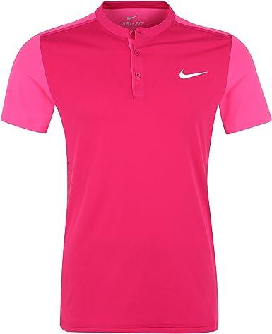 Nike tenis Premier Roger Federer Henley – Camiseta de tenis ...