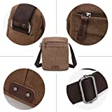 1988 Marco M.Kelly Canvas Leather Messenger Purse