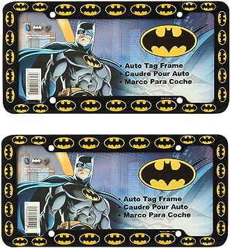 BATMAN Symbols bat shield License Plate Frame