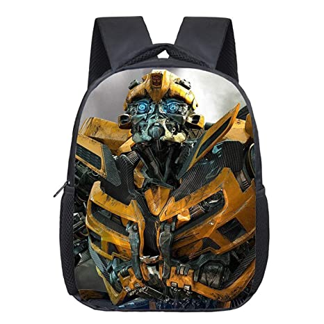 Jewh Cartoon Children Backpacks Deformation Robot Cars Kindergarten Baby Shoulder Bags Birthday Gift Transformation Printing Bags