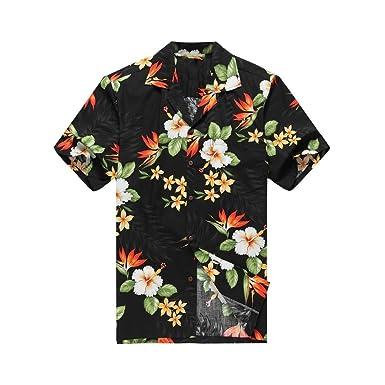 Homme Tropical Chemise Aloha À Hawaï Hawaïenne Fabriqué Pour K1cTJ3lF